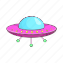 alien, cartoon, sign, space, spacecraft, spaceship, ufo icon