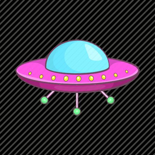alien, cartoon, sign, space, spacecraft, spaceship, ufo icon