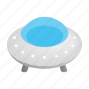 isometric, ufo, flying, elemental, ship, spaceship, saucer