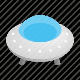 elemental, flying, isometric, saucer, ship, spaceship, ufo icon