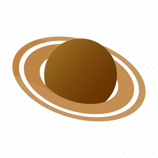 isometric, map, natural, planet, saturn, travel, view icon