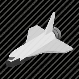 future, illustration, isometric, ship, space, spaceship, vehicle icon