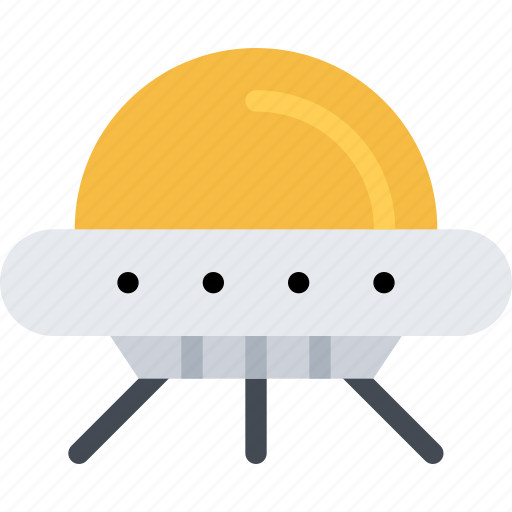 astronomy, extraterrestrial, flying saucer, space icon