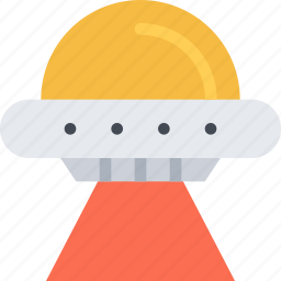 astronomy, extraterrestrial, flying saucer, space, ufo icon