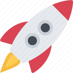 astronomy, pocket, rocket, space, spaceship icon