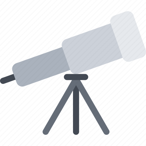 astronomy, cosmos, optical, space, telescope icon