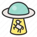 exploration, galaxy, mystery, space, spacecraft, spaceship, ufo icon