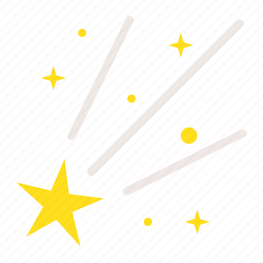 asteroid, astronomy, comet, meteor, space, star icon
