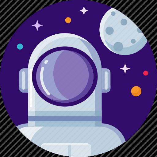 astronaut, astronomy, cosmonaut, nasa, space, spaceman icon