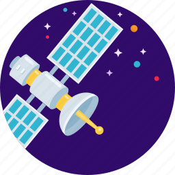 antenna, navigation, satellite, signal, space, star icon