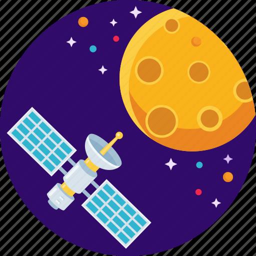 antenna, dish, mars, satellite, space, star icon