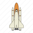 apparatus, equipment, ship, space, technology icon