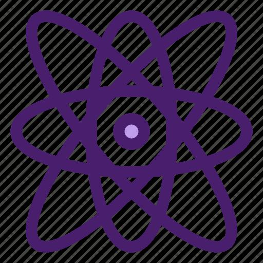 atom, education, molecule, physic icon