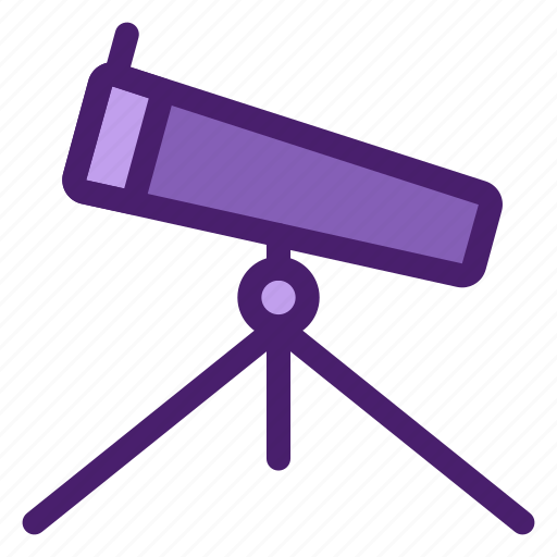 astronomy, galaxy, observation, sight, space, telescope, universe icon