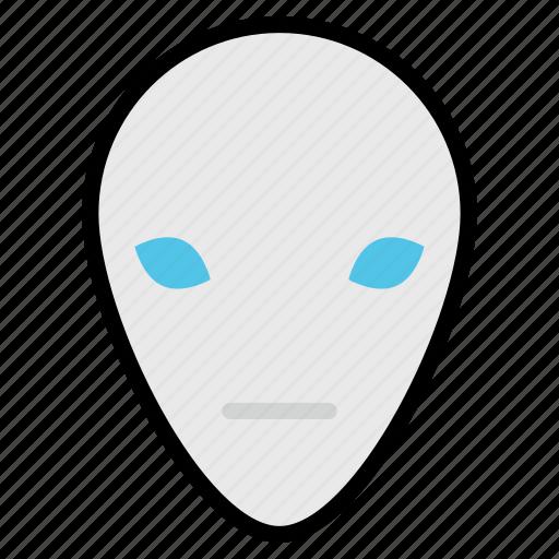 alien, character, fear, halloween, humanoid, spooky icon