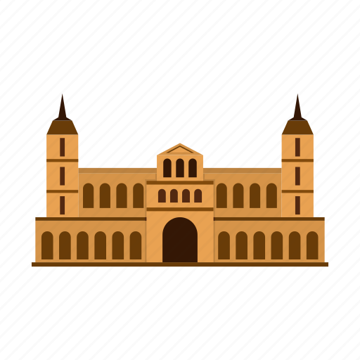 architecture, building, castle, kingdom, medieval, old, tower icon