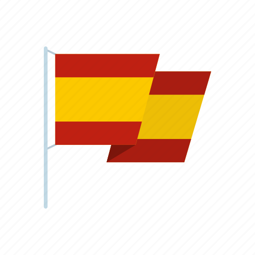 country, europe, flag, nation, national, patriotism, spain icon