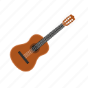 guitar, instrument, music, musical, play, sound, string icon