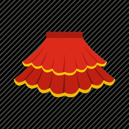 cloth, clothing, fashion, fashionable, female, model, skirt icon