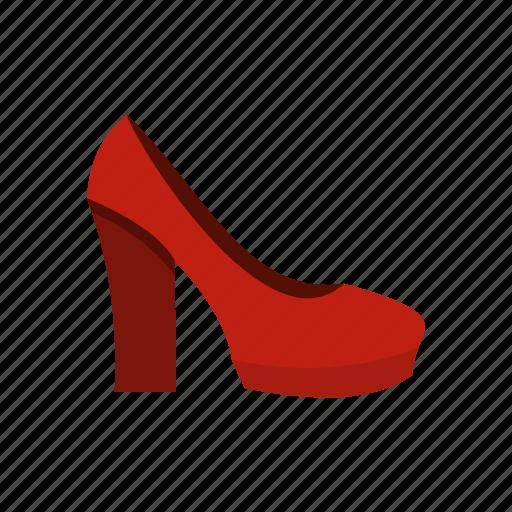 elegance, fashion, female, heel, high, shoe, shoes icon