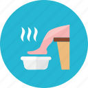 foot, soak icon
