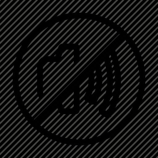 mute, off, sound, speaker icon