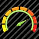auto, automobile, speedometer icon