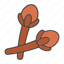 carnation, clove, condiment, culinary, flavor, seasoning, spice icon