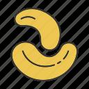 taste, nut, cashew, cashew nut, flavor, condiment, spice icon