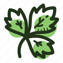cook, herb, ingredient, leaf, parsley, plant, spice icon