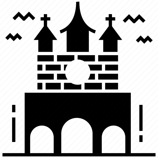 abandoned house, halloween home, haunted house, haunted mansion, spooky house icon