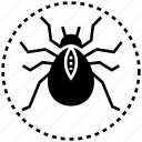deadly spider, halloween spider, scary spider, spider, spider monster icon