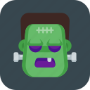 frankenstein, halloween, monster, zombie icon