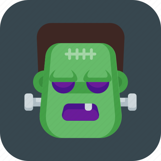 frankenstein, halloween, monster, zombie icon