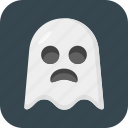 ghost, halloween, spook, wraith icon