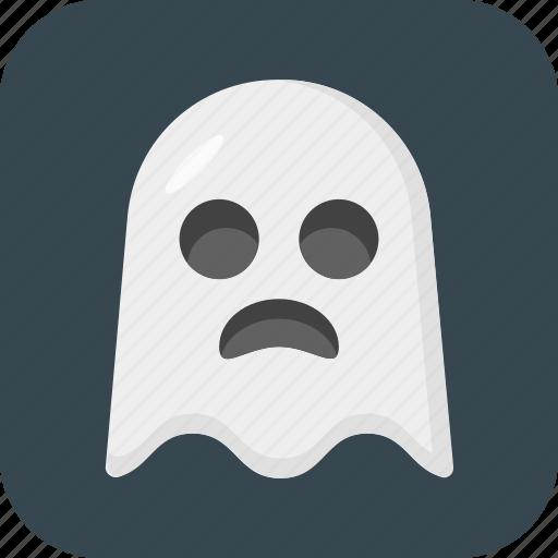 ghost, halloween, spook, wraith icon