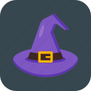 halloween, hat, witch, wizard icon