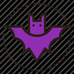 animal, bat, halloween, scary icon