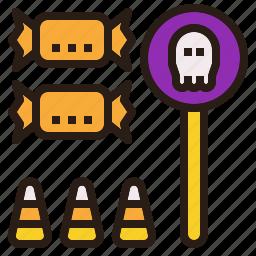 candy, halloween, treat, trick icon