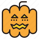 ghost, halloween, jack, lantern, o, pumpkin icon