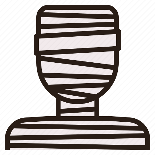 avatar, ghost, halloween, mummy icon