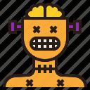 avatar, ghost, halloween, robot, zombie icon