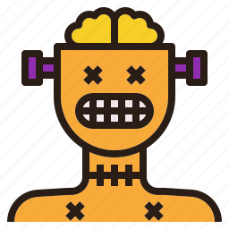 avatar, ghost, halloween, robot, zombie icon
