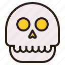 ghost, halloween, human, skull icon