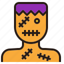 avatar, character, ghost, halloween, zombie icon