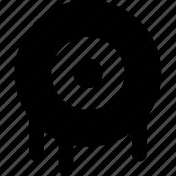dripping, eye icon