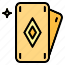 cards, casino, poker icon
