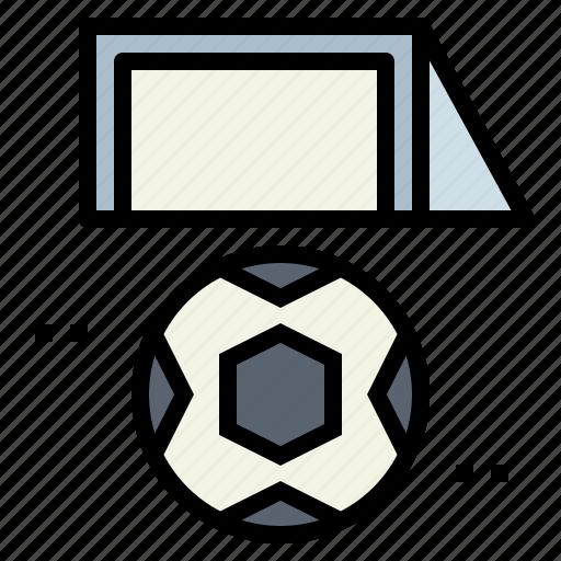 football, goal, soccer icon