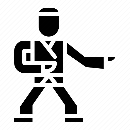 Judo Karate Icon