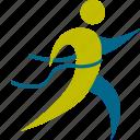 game, access, person, running, man, sport, speed, final, first